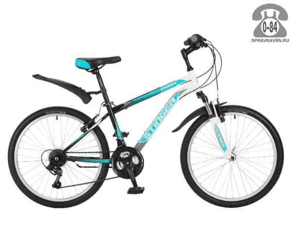Велосипед Стингер (Stinger) Caiman 24 (2017), синий