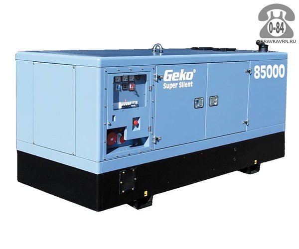 Электростанция Геко (Geko) 85000 ED-S/DEDA двигатель DEUTZ BF4M1013E