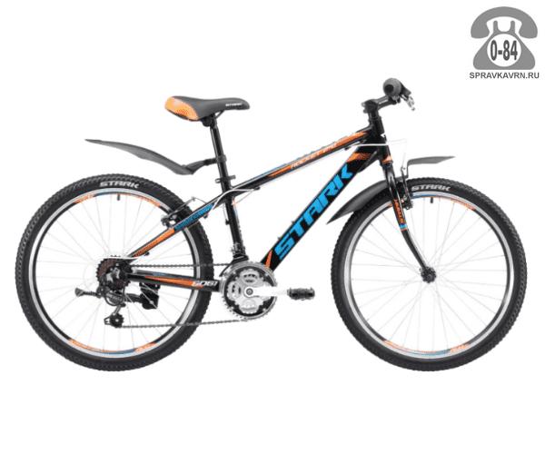 Велосипед Старк (Stark) Rocket 24.1 RV (2017), черный