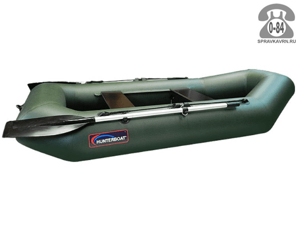 Лодка надувная Hunterboat Хантер 250 МЛ, зеленый 250022