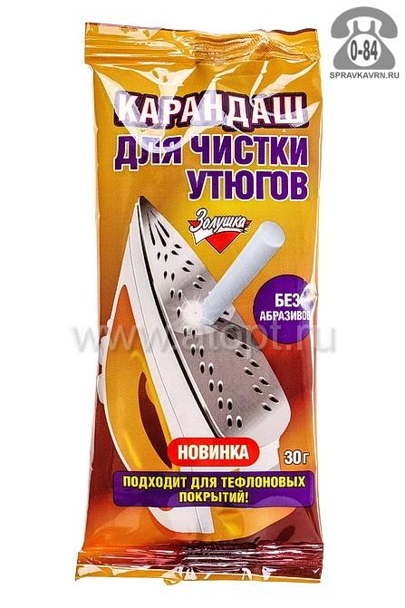 чистящее для утюгов Золушка 30 г карандаш (Москва) (Б24-02)