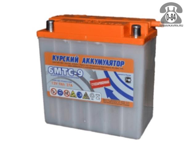 Аккумулятор для транспортного средства Исток 6МТС-9 КЗА