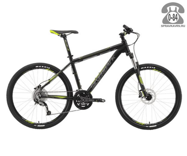 """Велосипед Сильвербэк (Silverback) STRIDE 10 (2016), рама 18.5"""", черный размер рамы 18.5"""" черный"""