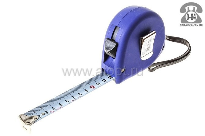 Рулетка измерительная Зубр Комфорт ширина полотна 25 мм длина 10 м
