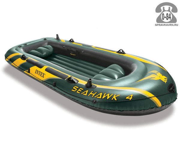 Лодка надувная Интекс (Intex) Seahawk 4, цвет: зеленый. 68351NP 747933