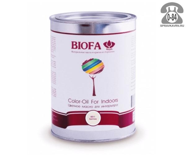 Мастика Биофа (Biofa) Color-Oil For Indoors 1л махагон
