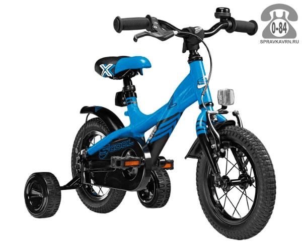 Велосипед Скул (Scool) XXlite 12 alloy (2017), синий