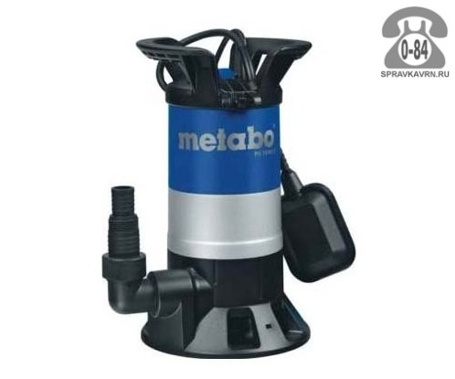 Насос водяной дренажный Метабо (Metabo) PS 15000 S