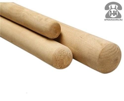 Черенок деревянный 1600 мм для грабель высший