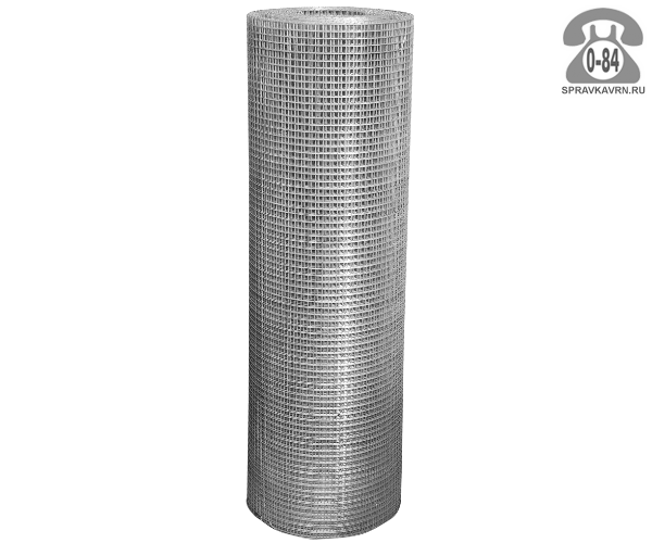 Строительная сетка диаметр 1.4мм  ячейка 10x20мм ширина 1м