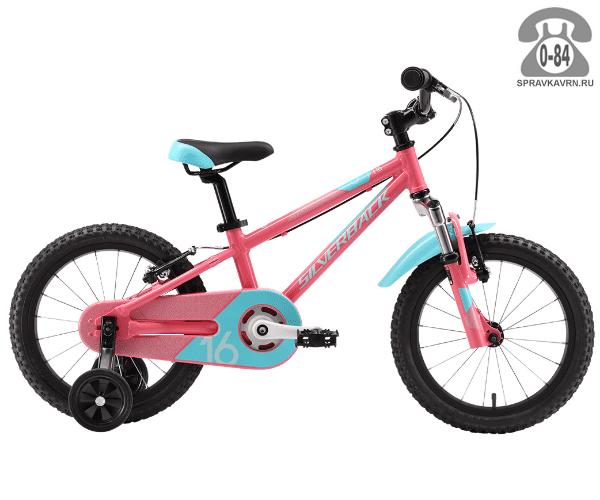 Велосипед Сильвербэк (Silverback) SENZA 16 (2016), розовый
