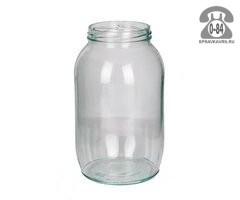 Банка стеклянная СКО-1-82 стандартная 1 л