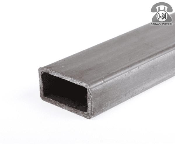 Профильные стальные трубы 40*20 1.5 мм 3 м резка