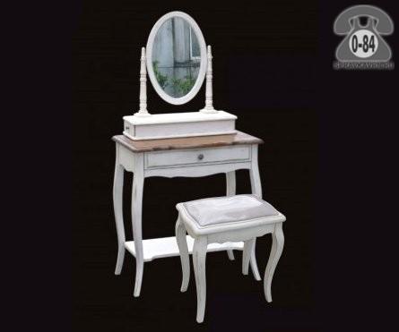 Столы туалетные Мобиллер Де Мейсон (Mobilier de Maison) Белая карамель ST9321