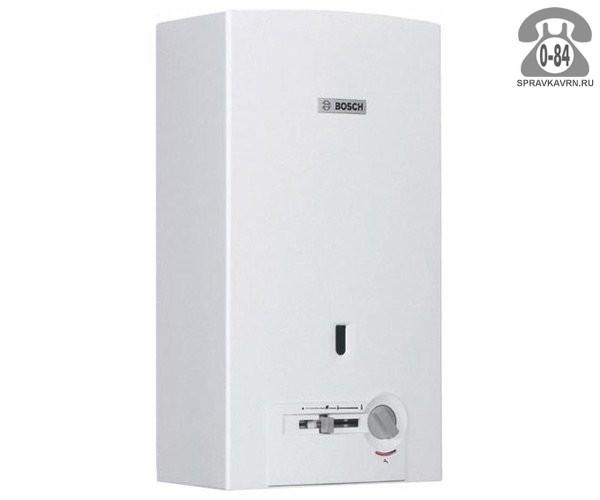 Газовая колонка Бош (Bosch) Therm 4000 O WR 10-2 P 17.4 кВт 10л/мин открытая камера