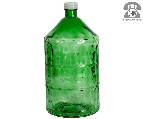 Бутыль стеклянная 22 л