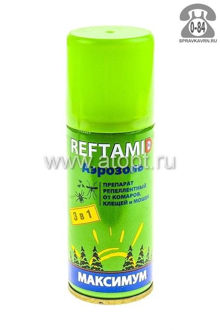 Средства от насекомых Рефтамид аэрозоль