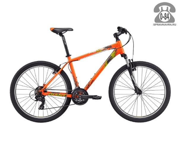 """Велосипед Джайнт (Giant) Revel 2 (2017), рама 18.5"""", оранжевый размер рамы 18.5"""" оранжевый"""