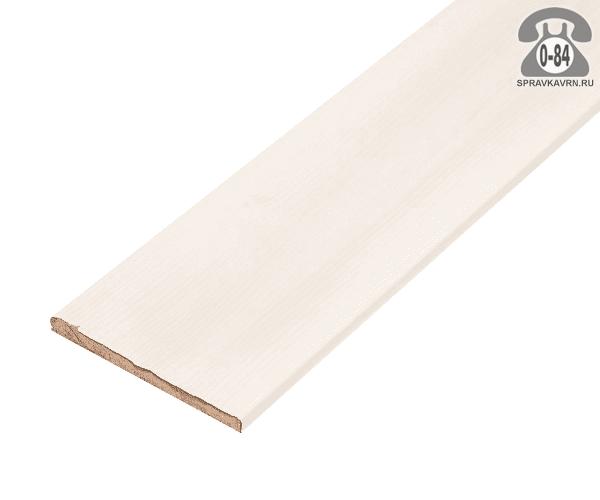 Добор для дверей Топ-Комплект Эко 100мм цвет белый ясень