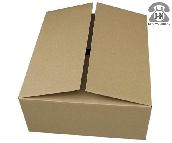 Коробка упаковочная Таракомплект картон гофрированный (гофрокартон, гофрокороб) для пищевых продуктов