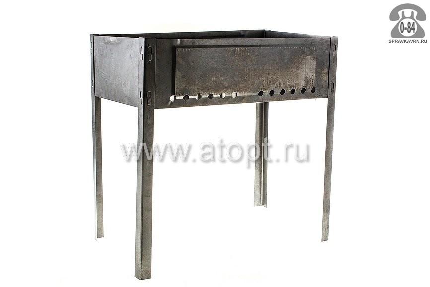 Мангал угольный РоялГриль 80-045 50х30 см
