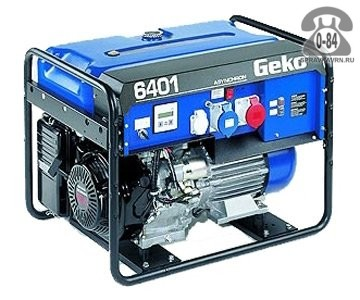 Электростанция Геко (Geko) 6401 ED-AA/HHBA двигатель Honda