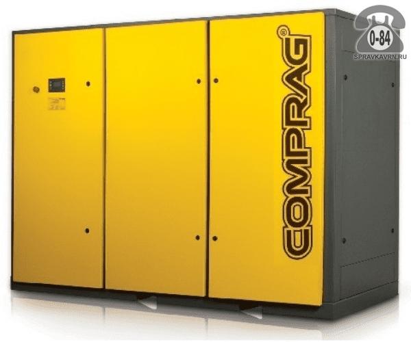 Компрессор Компраг (Comprag) DV-110 110 кВт 10 бар 16400 л/мин 2850*1300*2243