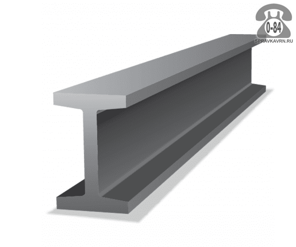 Балка металлическая двутавровая стальная 40Ш2