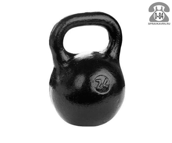 Гиря Барбел (Barbell) чугунная 24 кг
