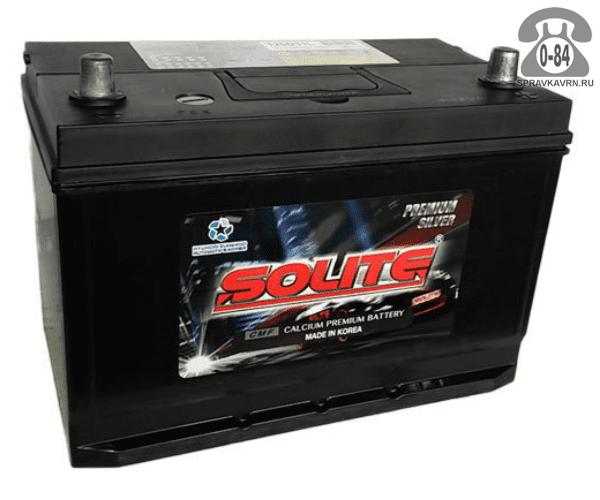 Аккумулятор для транспортного средства Солайт (Solite) 6СТ-110 обратная полярность 303*172*225 мм