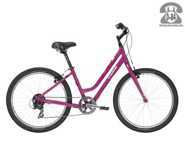 """Велосипед Трек (Trek) Shift 1 WSD (2016), рама 17"""" размер рамы 17"""" красный"""