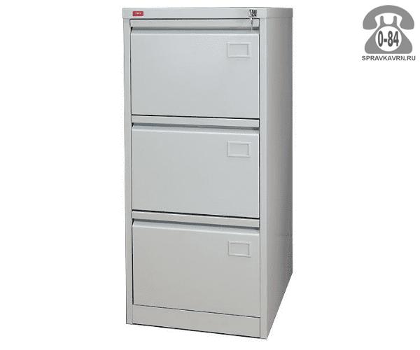 Шкаф картотечный металлический ПАКС-металл КР-3