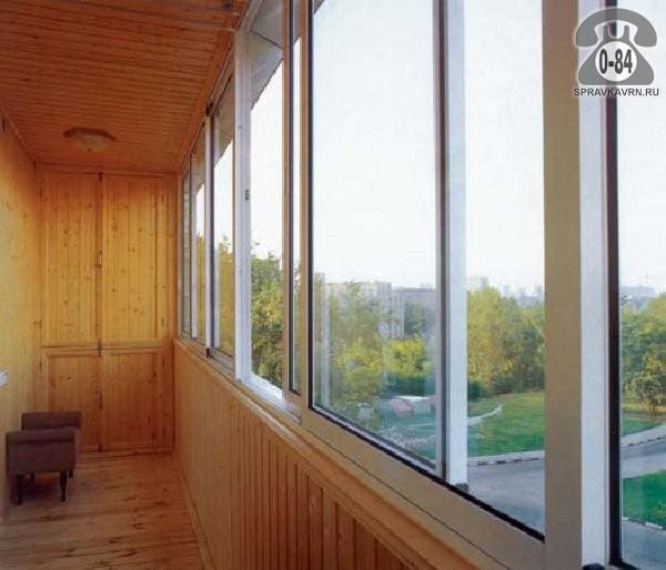 Отделка балконов от производителей.
