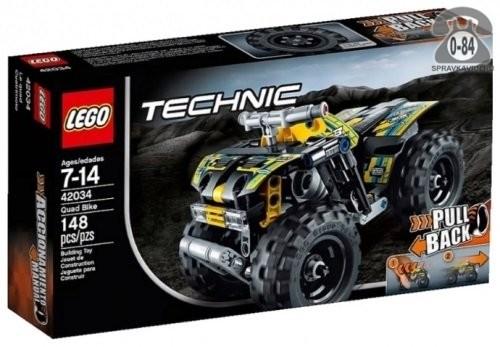 Конструктор Лего (Lego) Technic 42034 Квадроцикл, количество элементов: 148