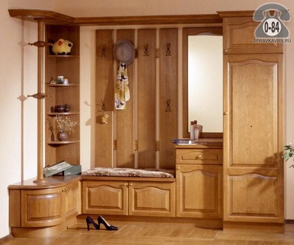 Мебель встроенная для прихожей - изготовление на заказ - вор.