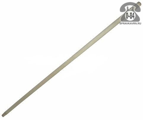 Черенок деревянный 25 мм 1200 мм для лопаты высший