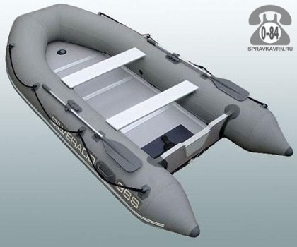 Лодка надувная Сильверадо (Silverado) Air Deck 28A