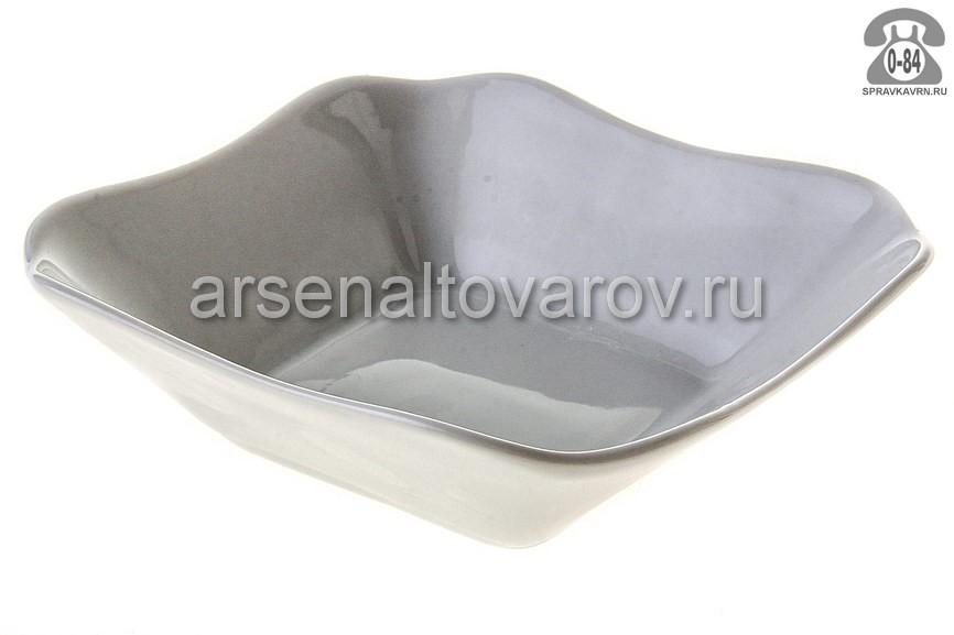 Салатник Добрушский фарфоровый завод Белье 6С0054