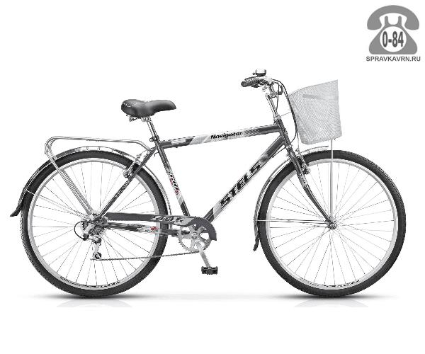"""Велосипед Стелс (Stels) Navigator 350 (2016), рама 20.5"""", черный размер рамы 20.5"""" черный"""