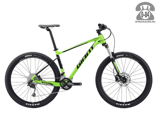 "Велосипед Джайнт (Giant) Fathom 2 (2017) размер рамы 20.5"" зеленый"