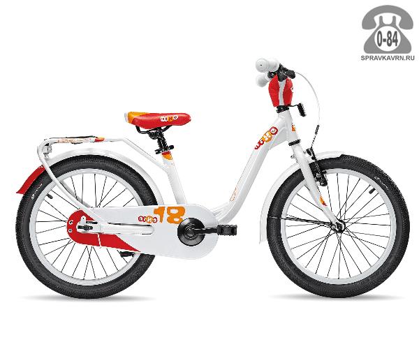 Велосипед Скул (Scool) niXe 18 alloy (2017), белый