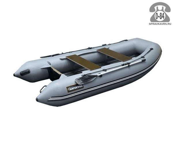 Лодка надувная Hunterboat Хантер 310 А, серый 310201