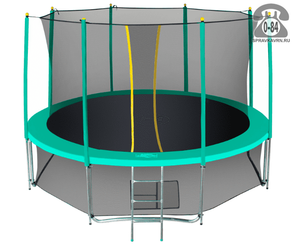 Батут Хастингс (Hasttings) Classic Green (3,66 м), максимальная нагрузка 160кГ