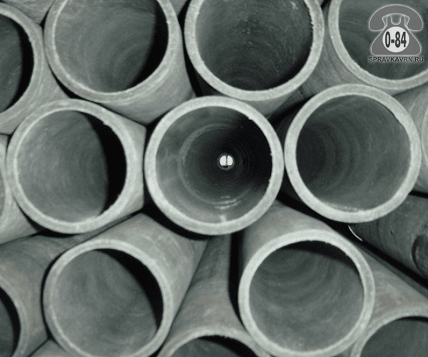 Асбоцементная труба ВТ6 250ммx5м, толщина стенки 13мм
