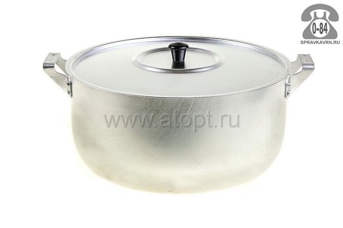 кастрюля алюминиевая 6 л (МТ-073) (Демидовский)