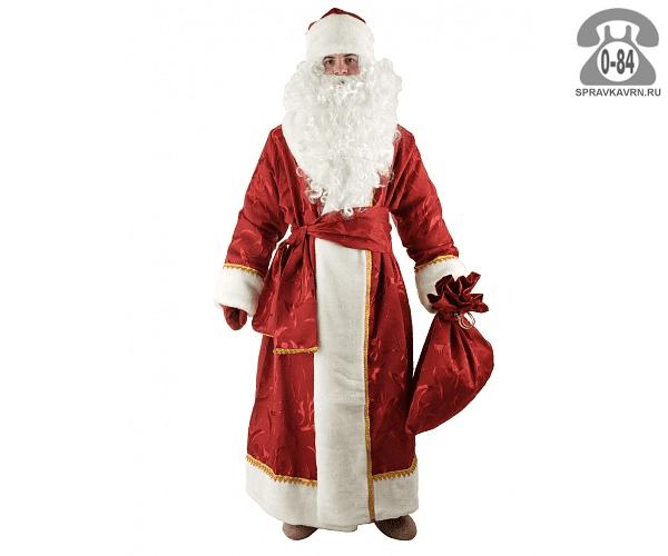 Костюм Дед Мороз 54-56 Н25-ПН Ланта (Lanta)