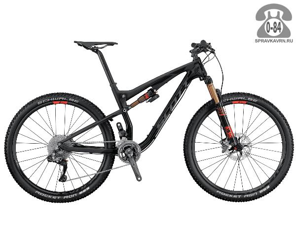 """Велосипед Скотт (Scott) Spark 700 Ultimate (2016) размер рамы 20.5"""" черный"""