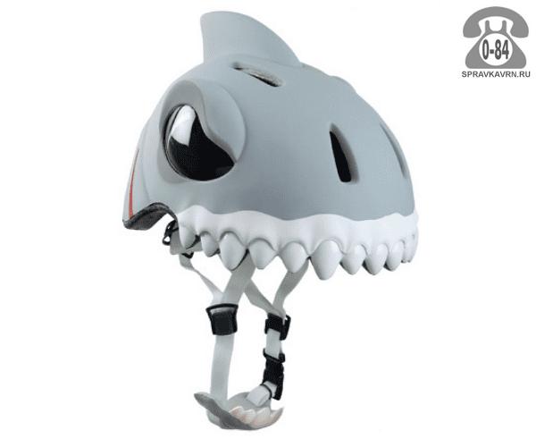 Велошлем Крейзи Сафети (Crazy Safety) White Shark детский