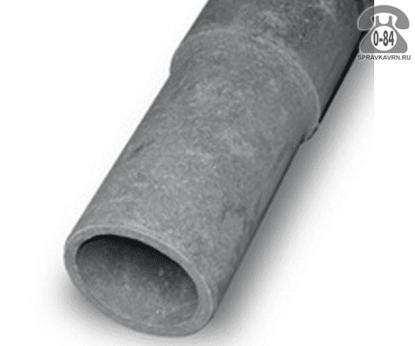 Асбоцементная труба ВТ9 100ммx3.95м, толщина стенки 11мм