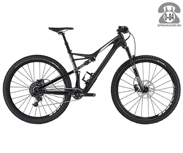 """Велосипед Специализед (Specialized) Camber Comp Carbon 29 (2016) размер рамы 18"""" черный"""